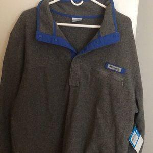 Men's Columbia Fleece Pullover!